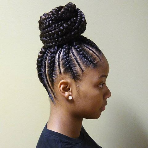 #7 Detailed Cornrows
