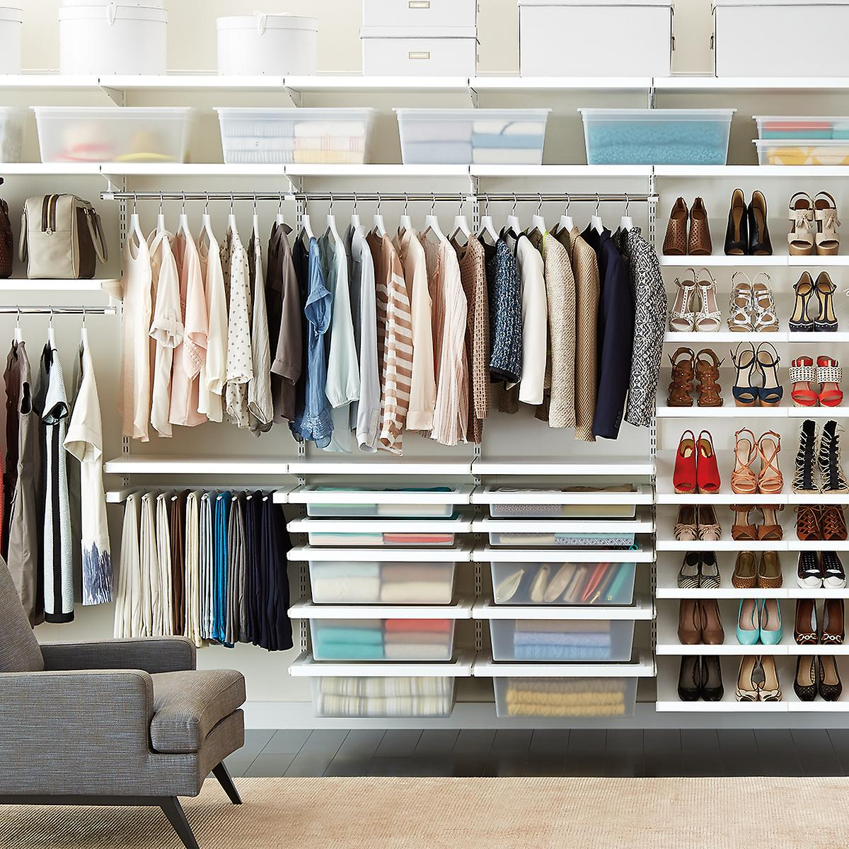The 5 Stages Of Cleaning Out Your Closet