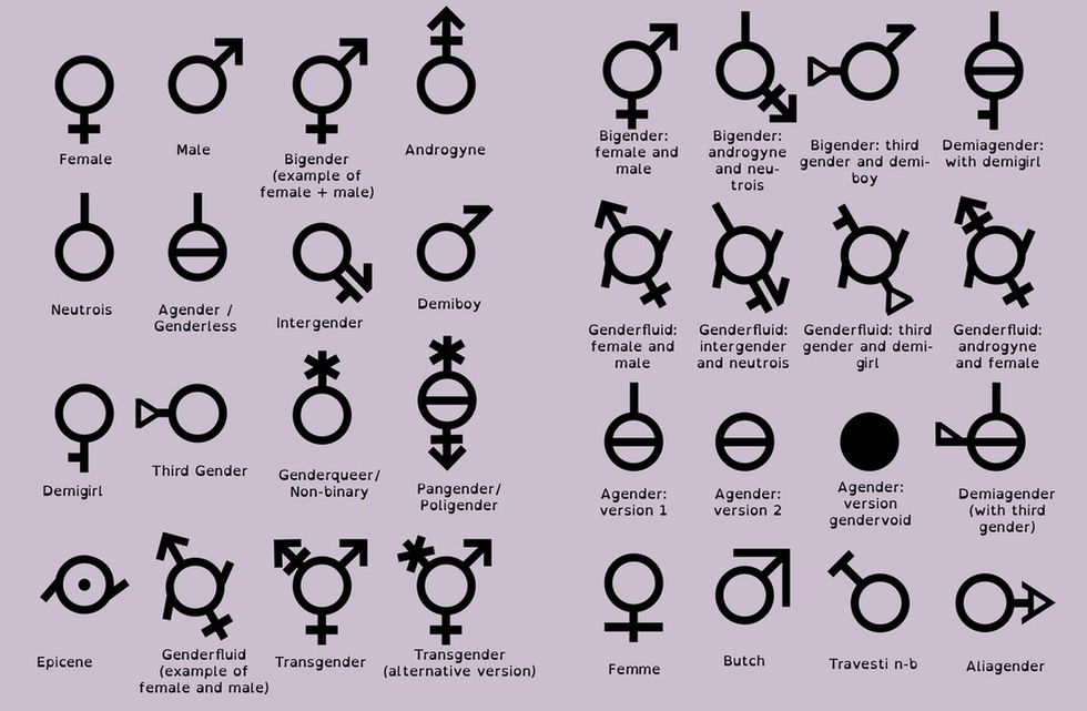 i m sorry but there will never be more than 2 genders