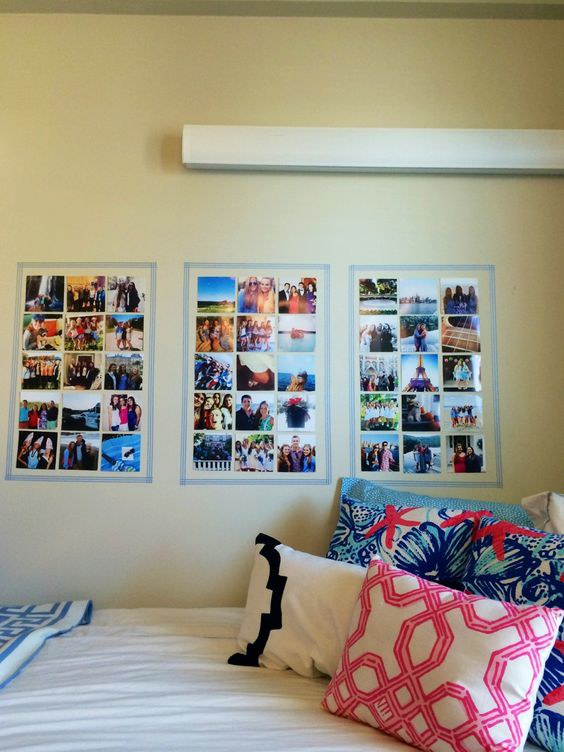 Hanging Pictures In Your Dorm Room Adds A Little Something To Decorate Your  Plain Walls. It Is Also A Reminder Of The Family, Friends And Pets That You  ... Part 49
