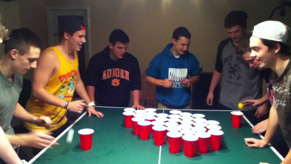 Drinking Games For Summer Holiday Weekends - Four corners drinking game