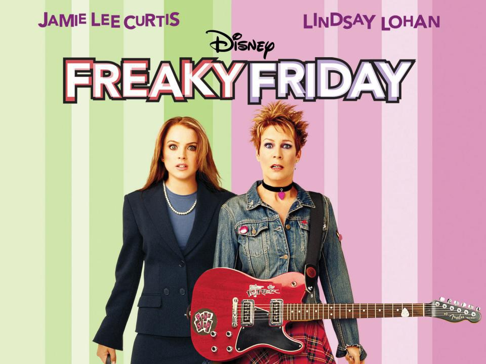 Freaky Friday is definitely one of my childhood classics and probably one  of yours too. It's teenage angst and rebellion versus unfair parents in one  movie.