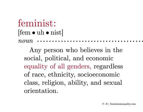 dropping the f bomb for all those so called non feminists