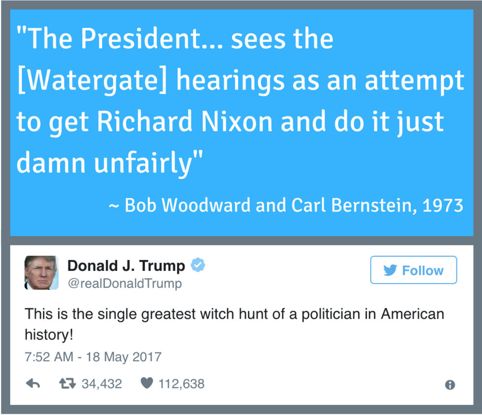"""...and most certainly """"not a crook""""."""