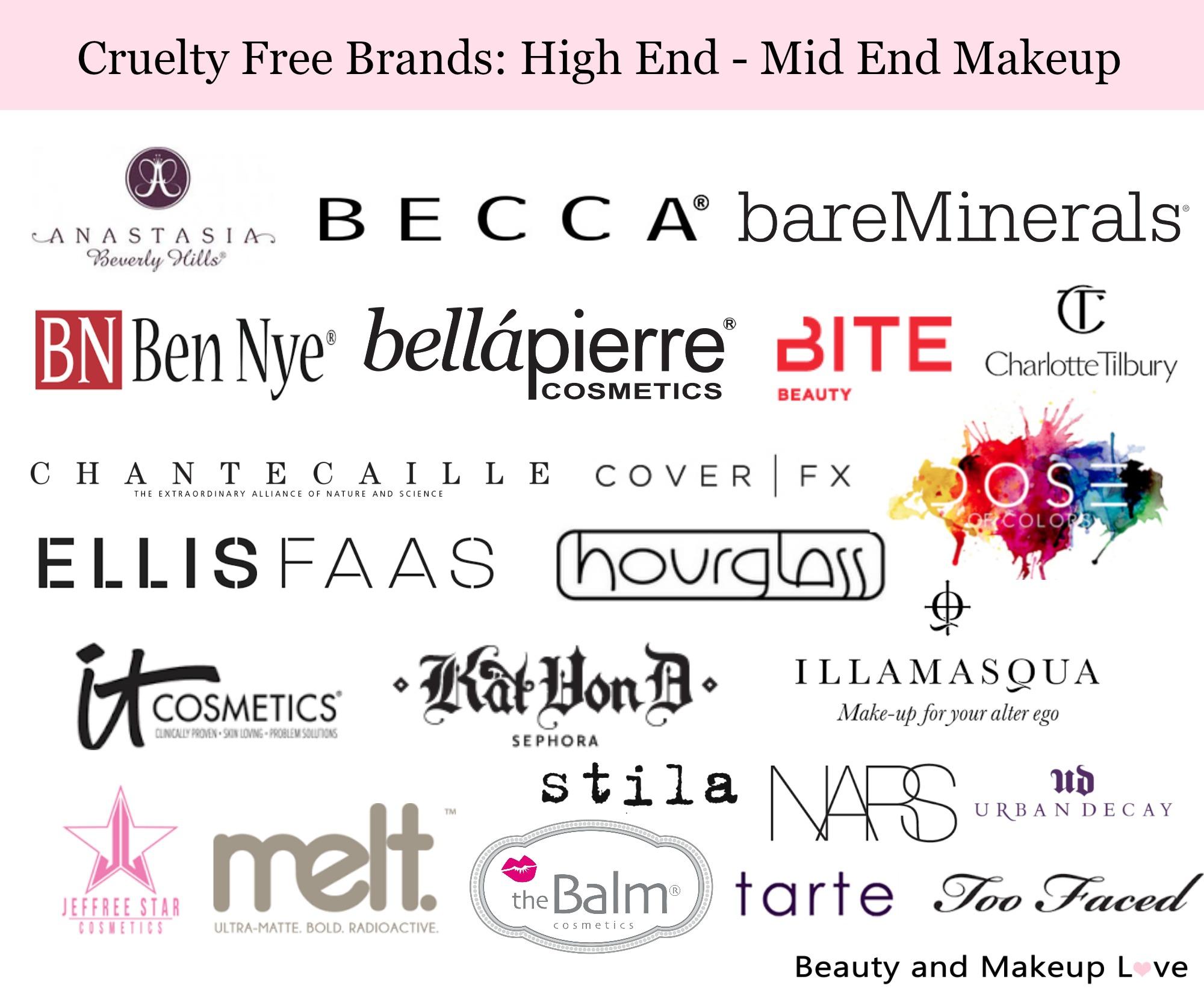 Non Cruelty Free Makeup Brands