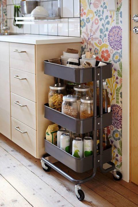 12 tolle IKEA-Tricks für optimale Raumausnutzung in der Küche - Diy ...