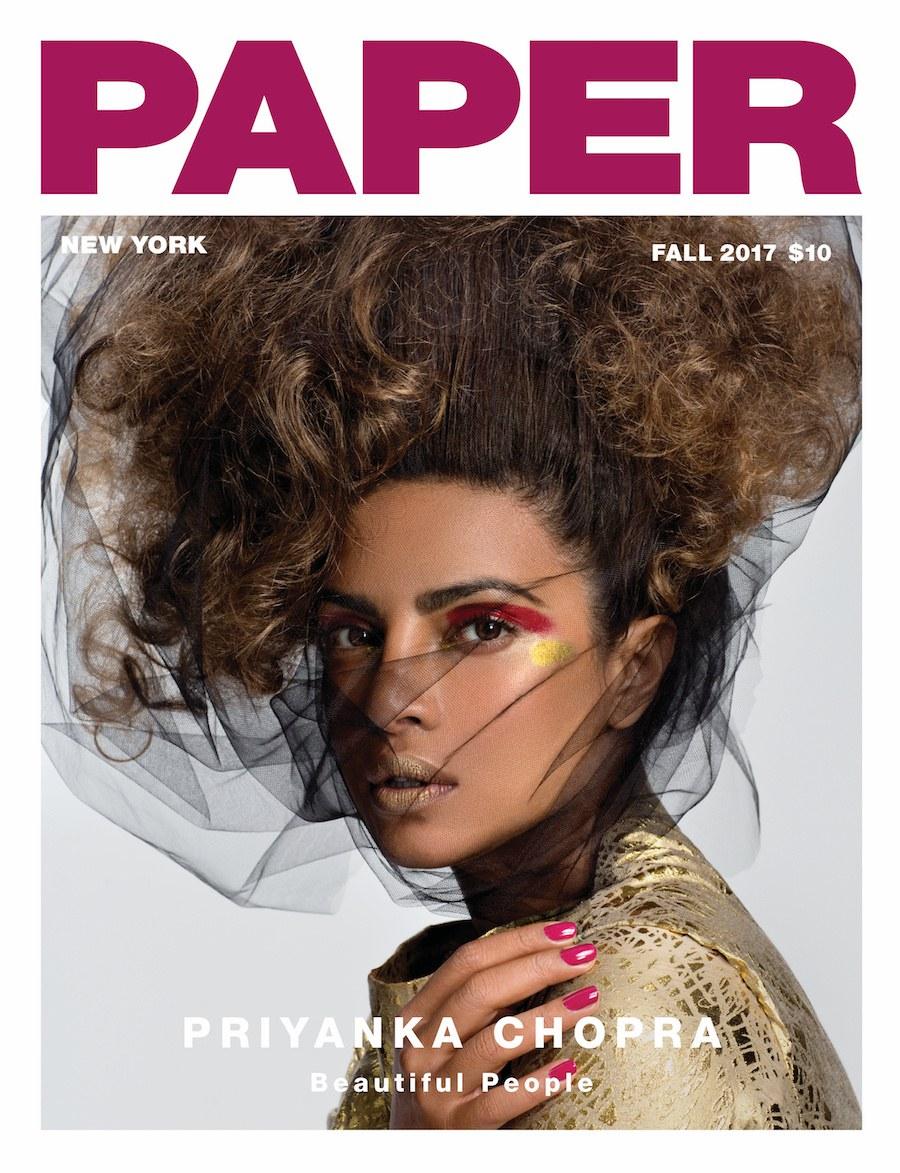 Priyanka Chopra Paper magazine cover