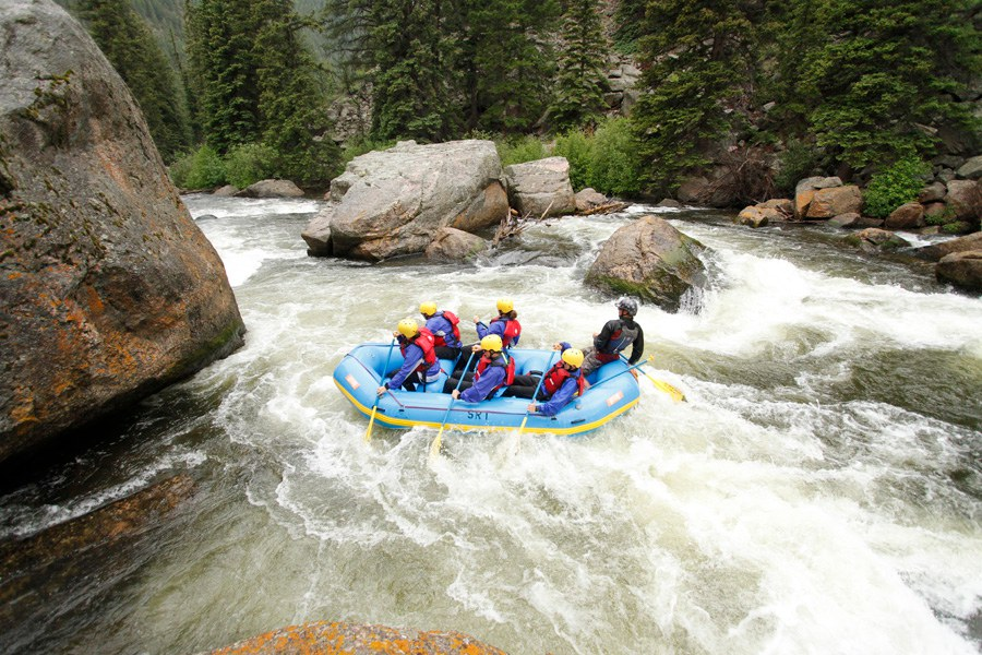 2 White Water River Rafting