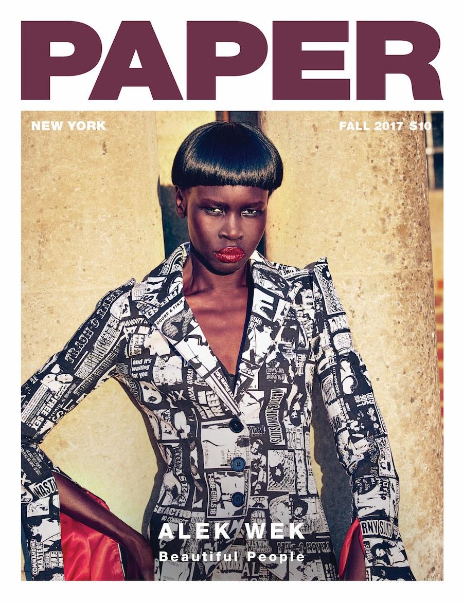 Alek Wek Still A Hit Beautiful People Issue Paper Magazine