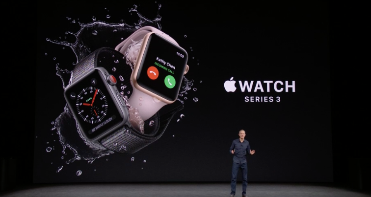 Apple launches Watch Series 3 with built-in cellular