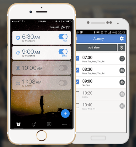 Image result for Alarmy (Sleep If U Can) - Mission Alarm Clock App