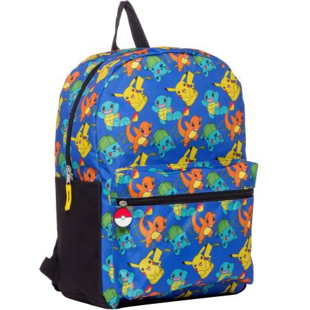 Pikachu backpack with Pokeball zippers - Walmart  14.88 or Target  29.99 76ab1bd4cf7e8