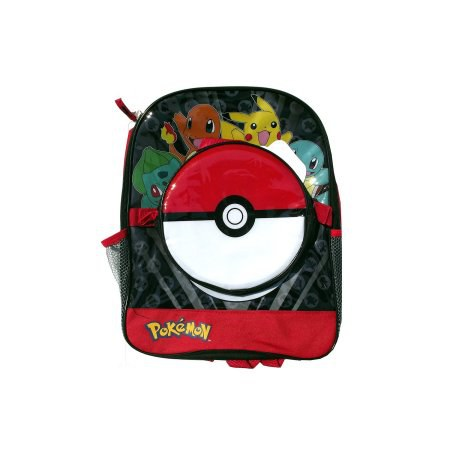 Another Bulbasaur Charmander Pikachu And Squirtle Backpack With Pokeball Lunch Box