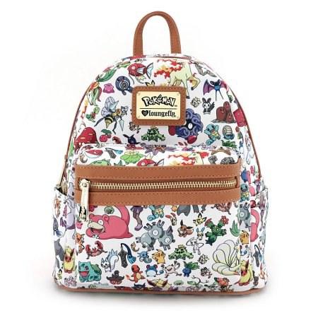 6071f6f932ee Multiple pokemon mini faux leather backpack - Walmart  86.24 !