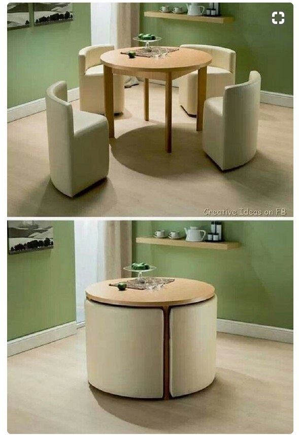 Search out space-saving table sets