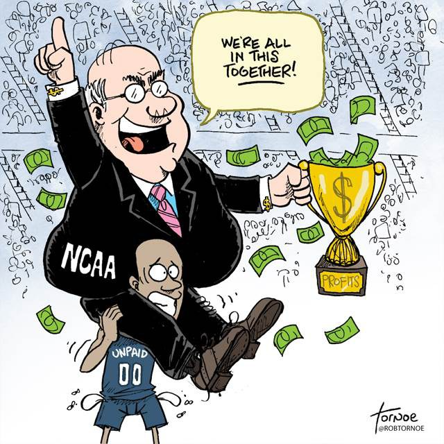 Ncaa and the payment of college athletes