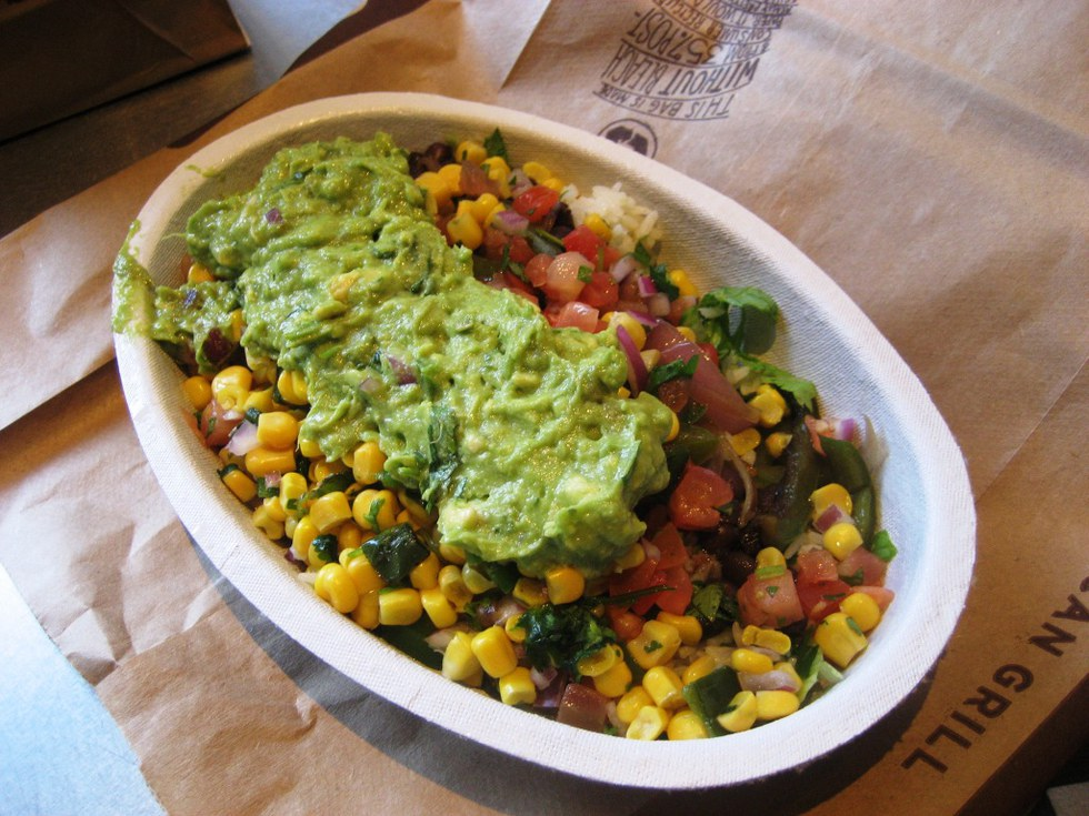 Vegan Fast Food Chipotle