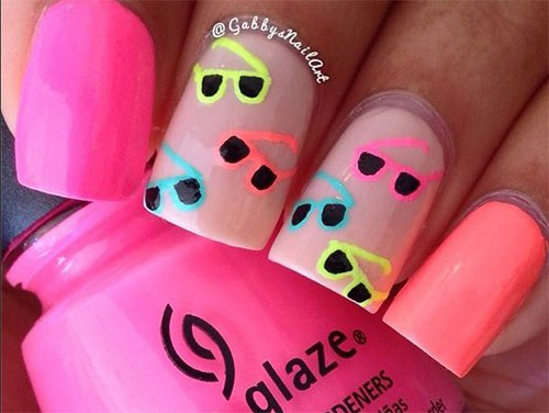 6 perfect gel nail designs for summer 2017 prinsesfo Gallery