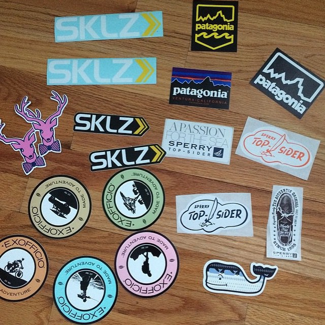 How To Get Free Stickers From 11 Different Brands, From In
