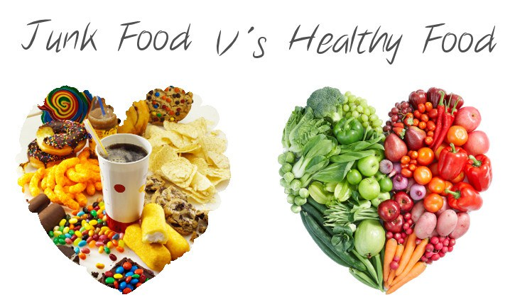 essays on healthy food vs junk food What is the difference between fast food and junk food are they the same or not +1 most fast food chains in japan serve rather healthy food.