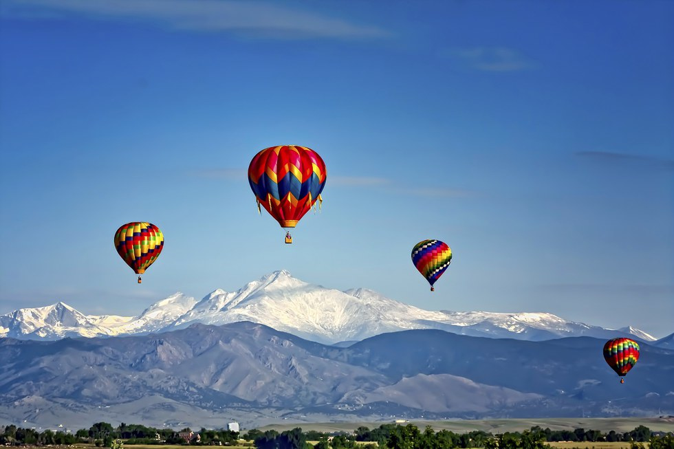 Hot Air Balloon Festival in Colorado