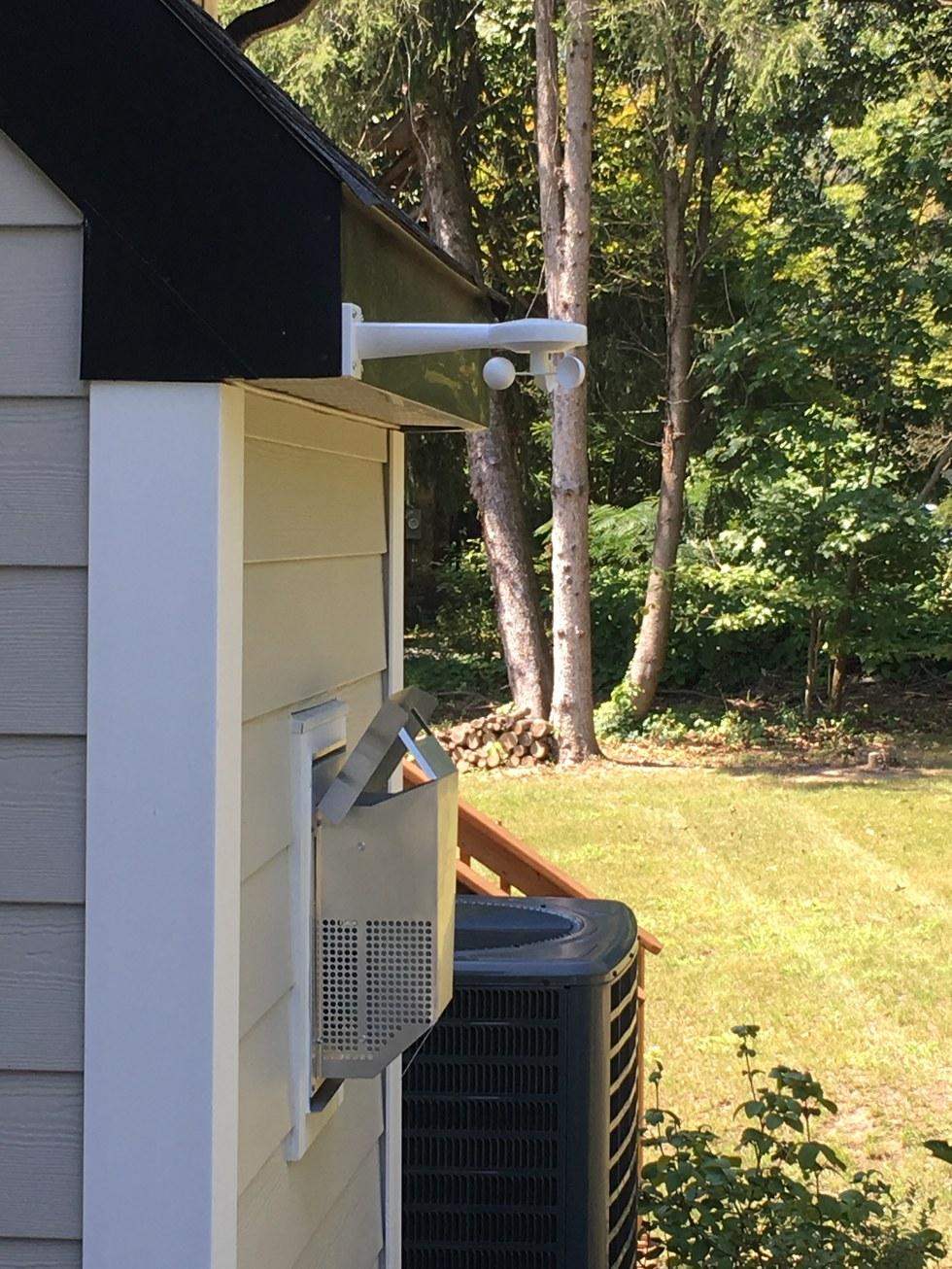 Loxone Wind Sensor & Weather Service