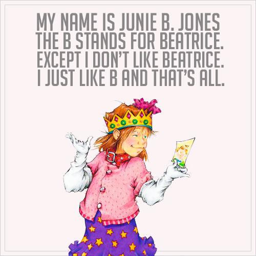 Junie B Jones Books Are Not Just For Kids
