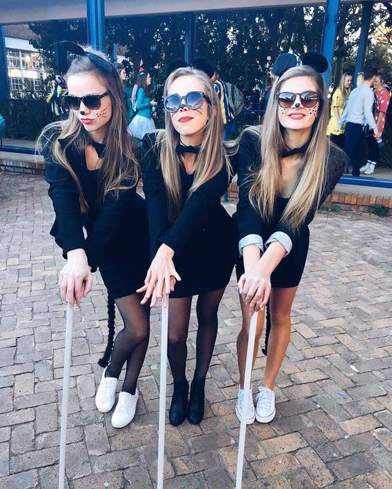 Three Blind Mice  sc 1 st  Odyssey & 11 Creative Halloween Costume Ideas For College