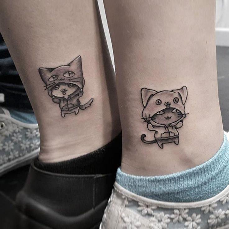 über 10 Tattooideen Für Schwestern Die Eure Verbindung Zeigen