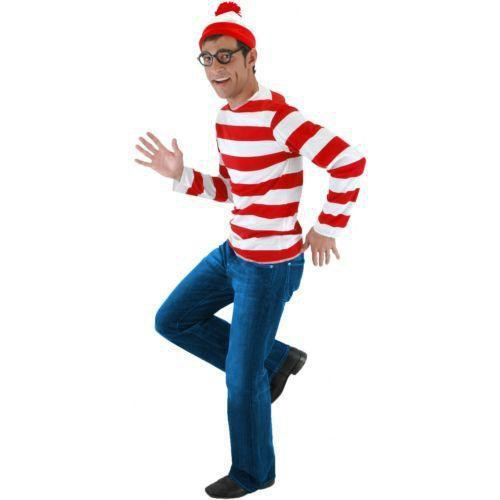 31 greatest diy halloween costumes for college students for this costume you will need a red and white striped shirt jeans a red and white hat and a pair of glasses solutioingenieria Image collections