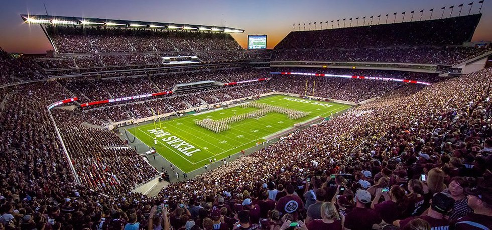 Most intimidating college football stadiums