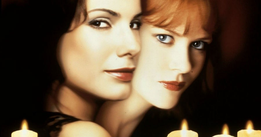 starring sandra bullock and nicole kidman this 90s title is everything you want in a halloween movie that isnt scary it has witches ex boyfriends - Top 10 Scary Halloween Movies