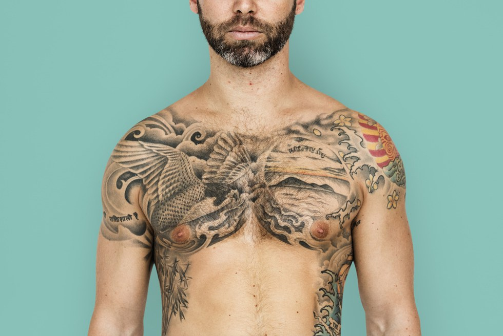 What your tattoo placement says about your personality for Tattooed single men