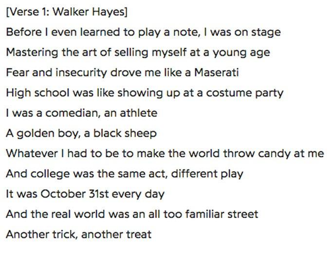 Walker Hayes'