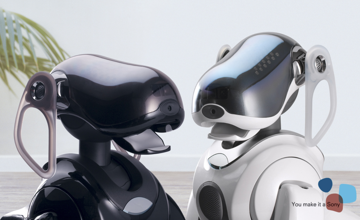sony aibo robotic dog to return as ai smart home controller