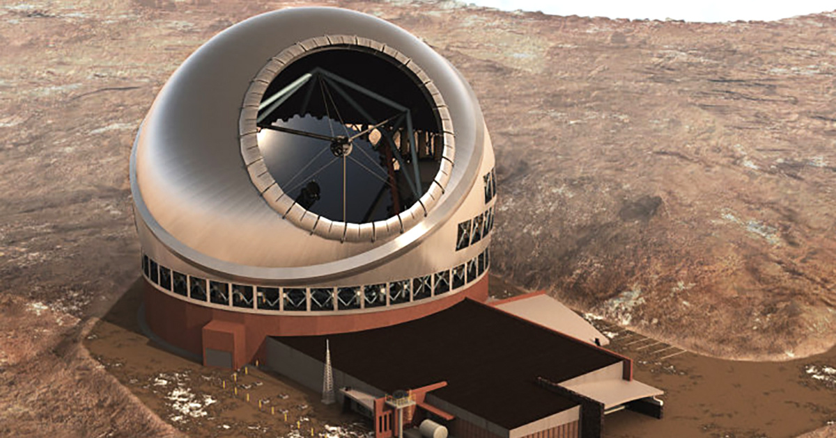 photo image Approval Given to Thirty Meter Telescope on Sacred Mountain