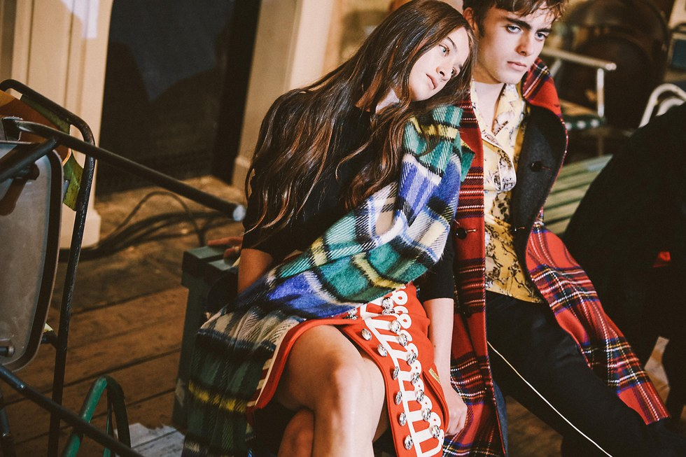 Check Out Levi Dylan Iris Law And More Rocking Burberry