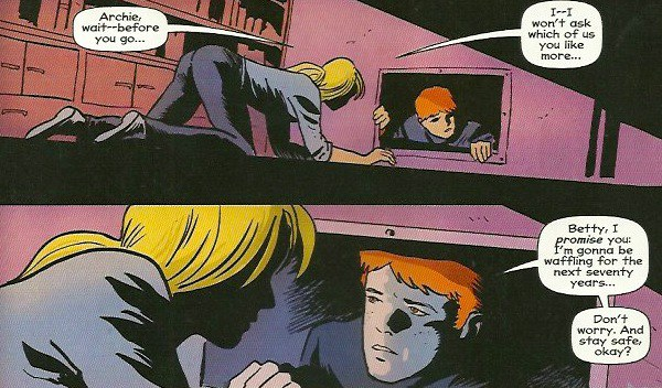 Archie gets sucked and poked