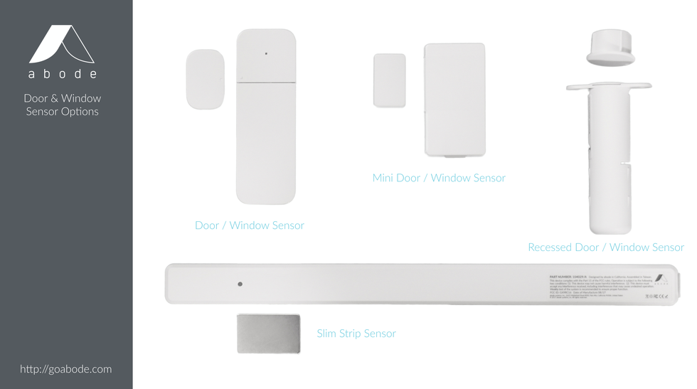 abode adds New Devices to Their DIY Home Security System