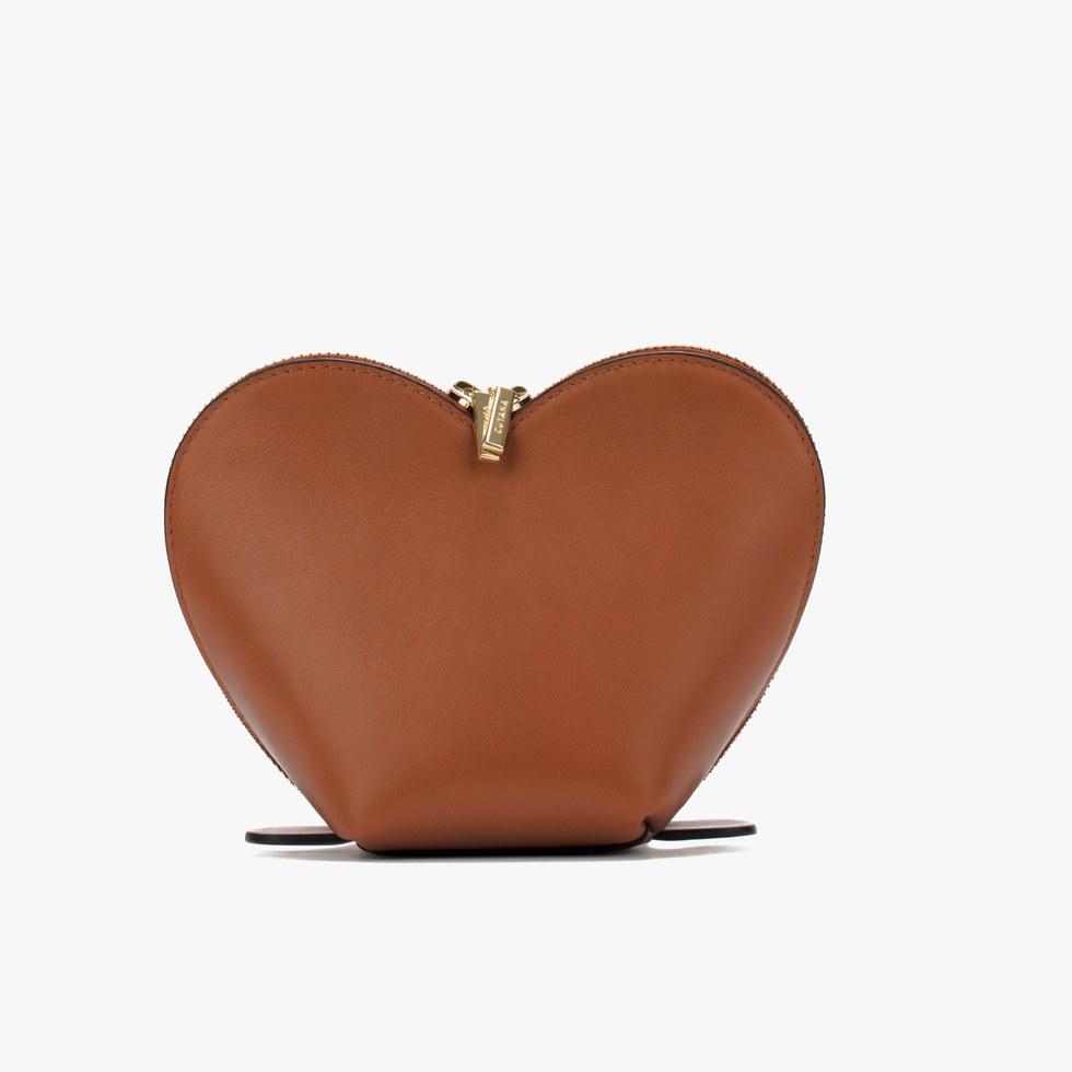 Cuyana Heart Pouch