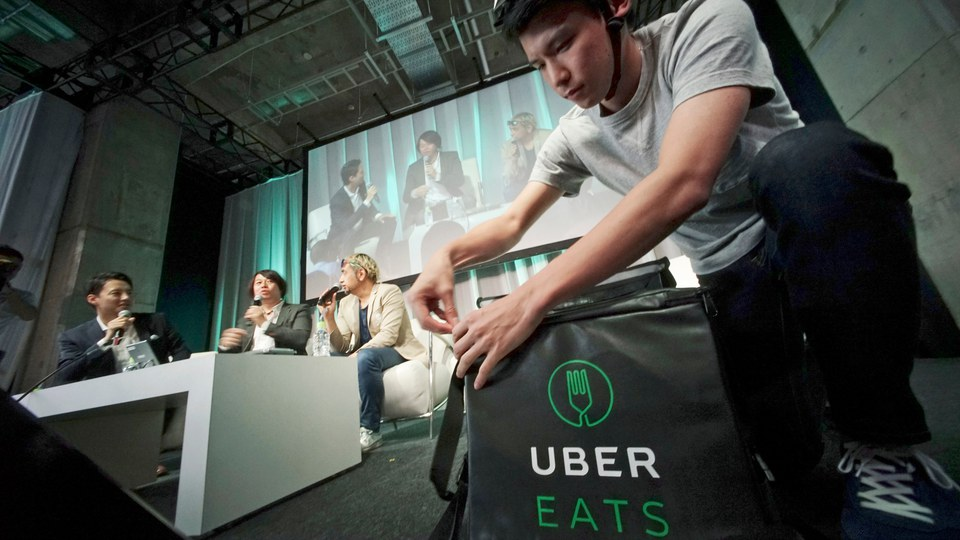 UberEats growing faster than company's ride-hailing service