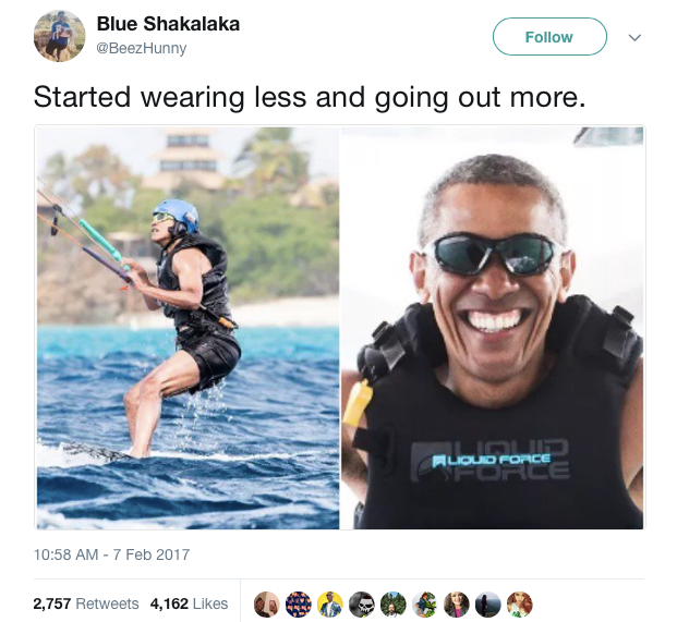 1 obama on vacation