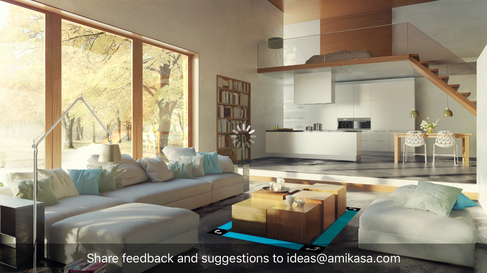 review design with amikasa free ar decorating iphone app