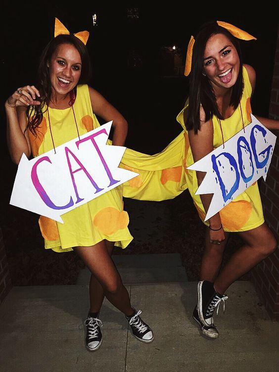 1. CatDog  sc 1 st  Odyssey & 31 Halloween Costumes For Your Whole Squad