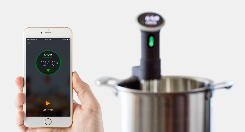 Anova Sous Vide Precision Cooker 7 Cool Tech Gifts For Your Best Friends