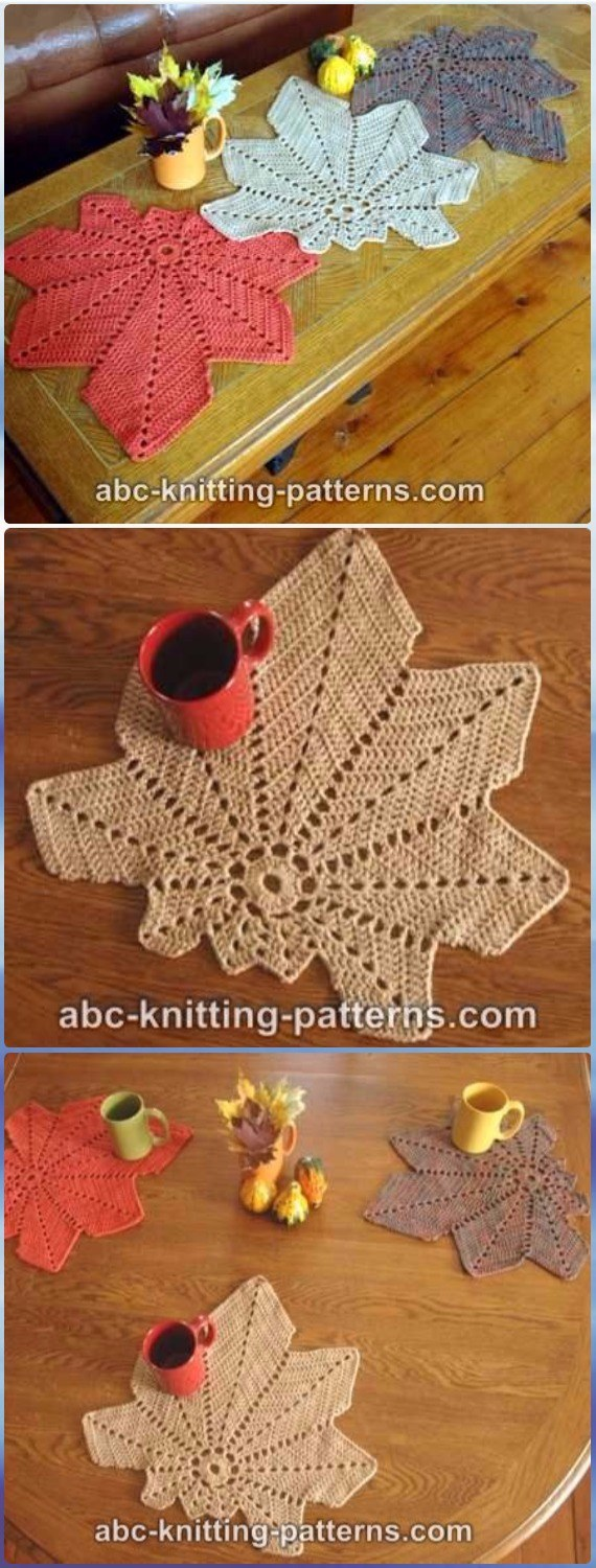 5 Crochet Projects That Will Look Adorable On Your Thanksgiving Table