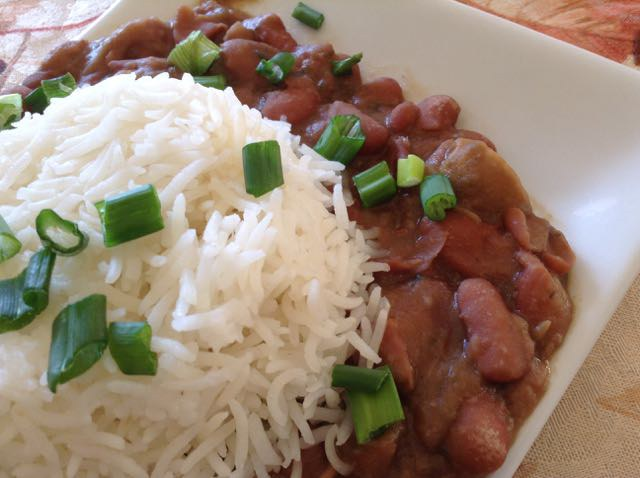 4 vegan soul food dishes for a guiltless thanksgiving xonecole brown vegans red beans and rice forumfinder Image collections
