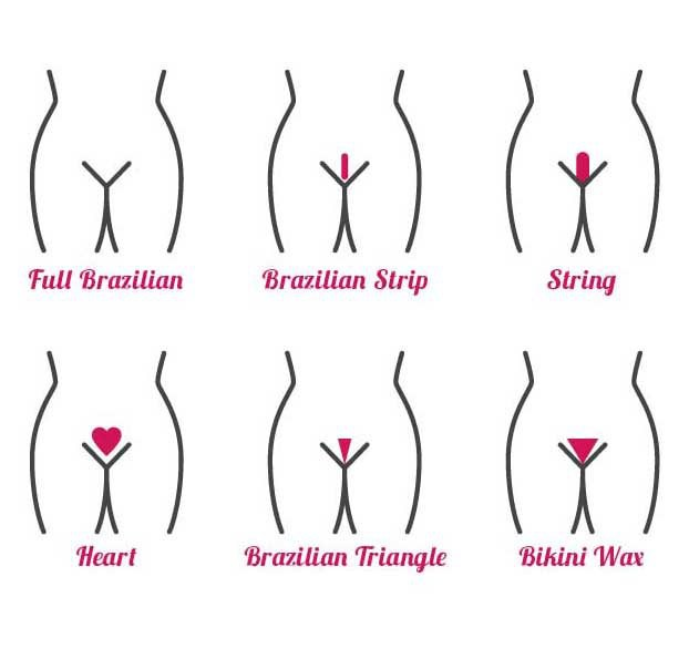 The brazilian wax why women go bare xonecole the different type of waxing styles solutioingenieria Image collections