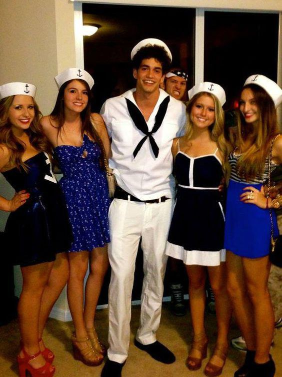 This Is The Kind Of Nauti Your Pas Would Rove Dress In An Outfit Fit For Sea And Party Like You Re On A Yacht