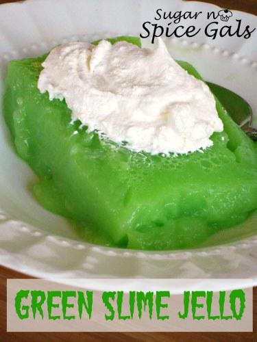 Green Slime Jello My Recipe Magic
